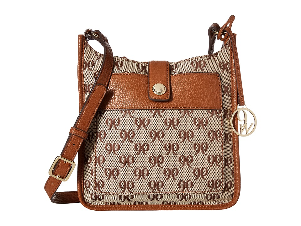 Nine West - Aspen (Khaki Brown/Tobacco) Handbags