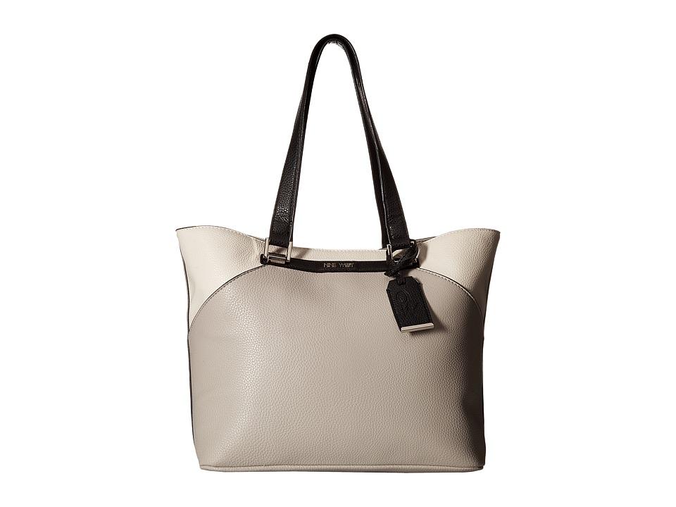 Nine West - Kinsley (Dove/Chalk/Black) Handbags