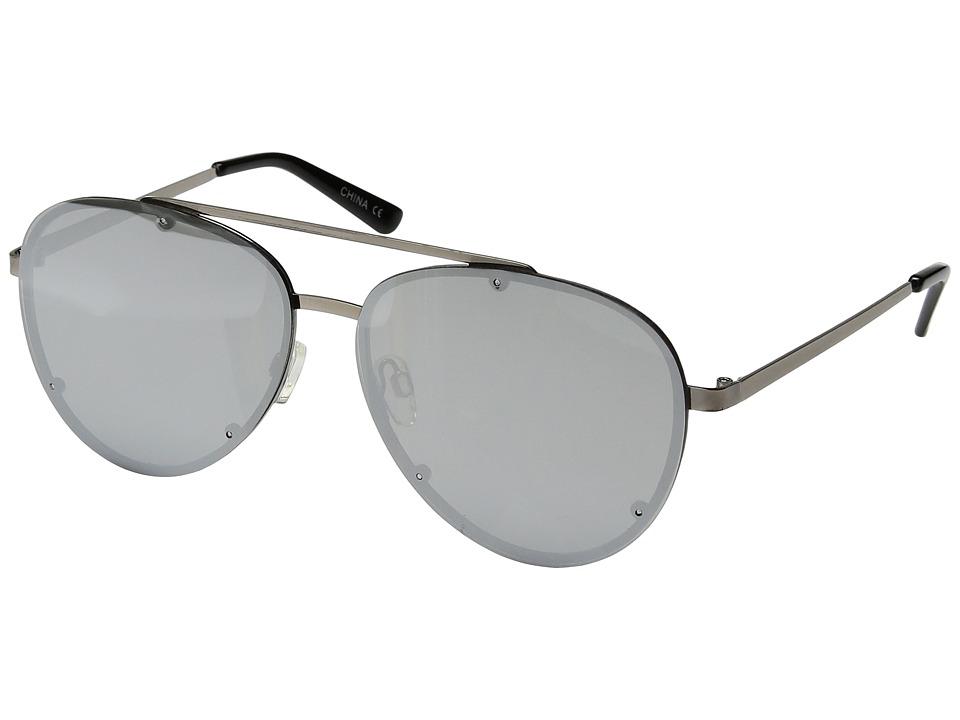 Steve Madden - SM482106 (Gunmetal/Silver) Fashion Sunglasses