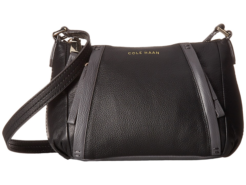 Cole Haan - Clare Crossbody (Black/Storm Cloud) Cross Body Handbags