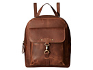 Born Born - Springfield Distressed Backpack w/ Dog's Leash on Front Pocket
