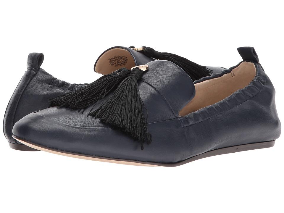 Nine West Ballard (Navy Leather) Women