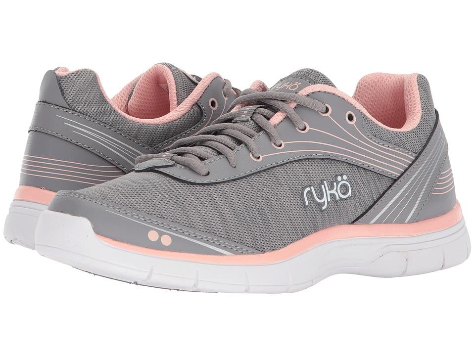Ryka Destiny Frost Grey Yucca Mint Chrome Silver Womens Shoes