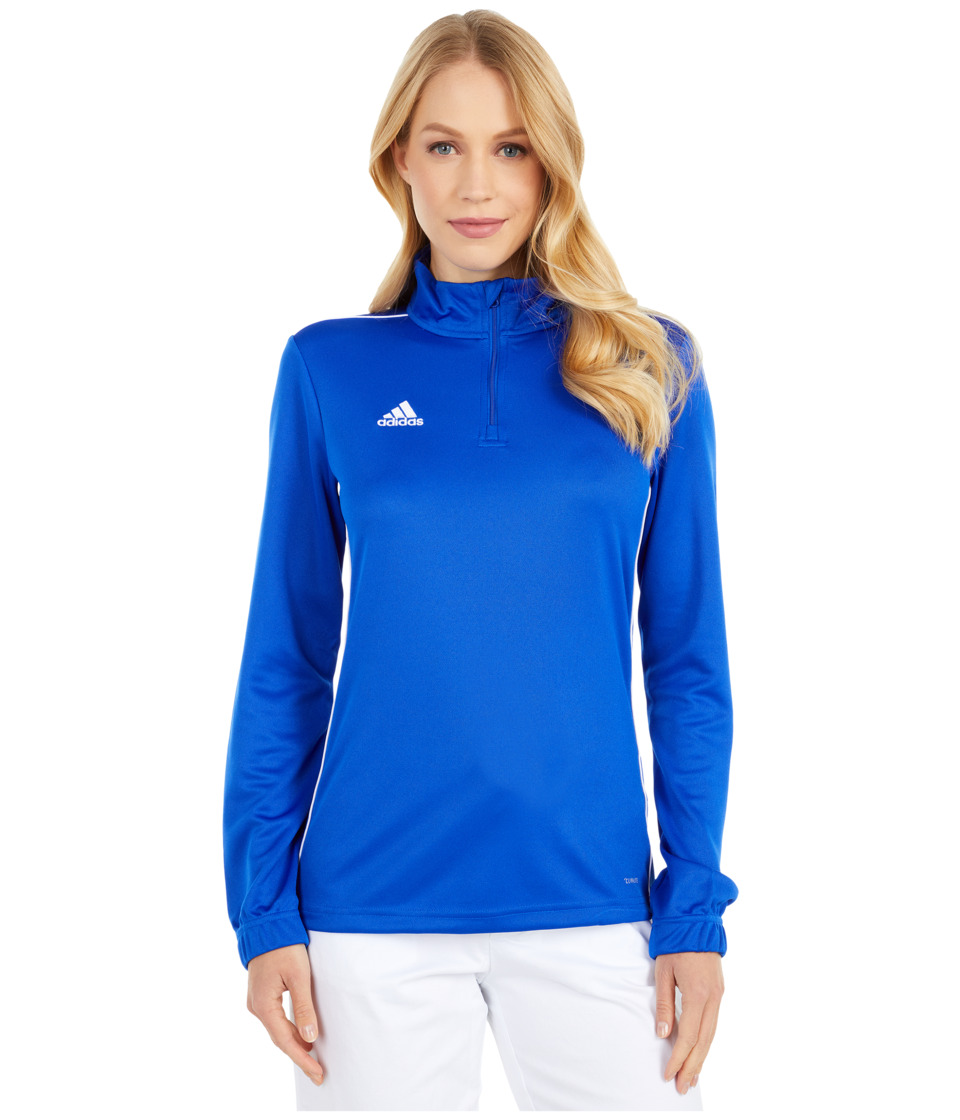 adidas Core 18 Training Top (Bold Blue/White) Women