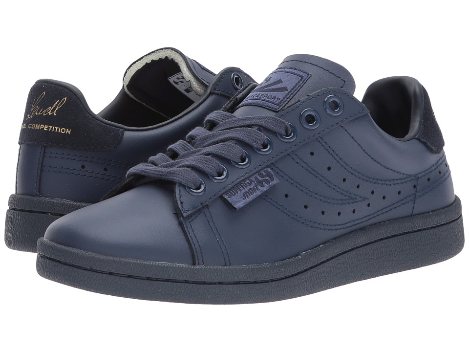 Superga - 4832 FGLU (Total Navy) Women's Lace up casual Shoes