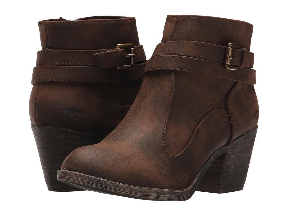 Rocket Dog - Sessions (Brown Graham) Women's Pull-on Boots