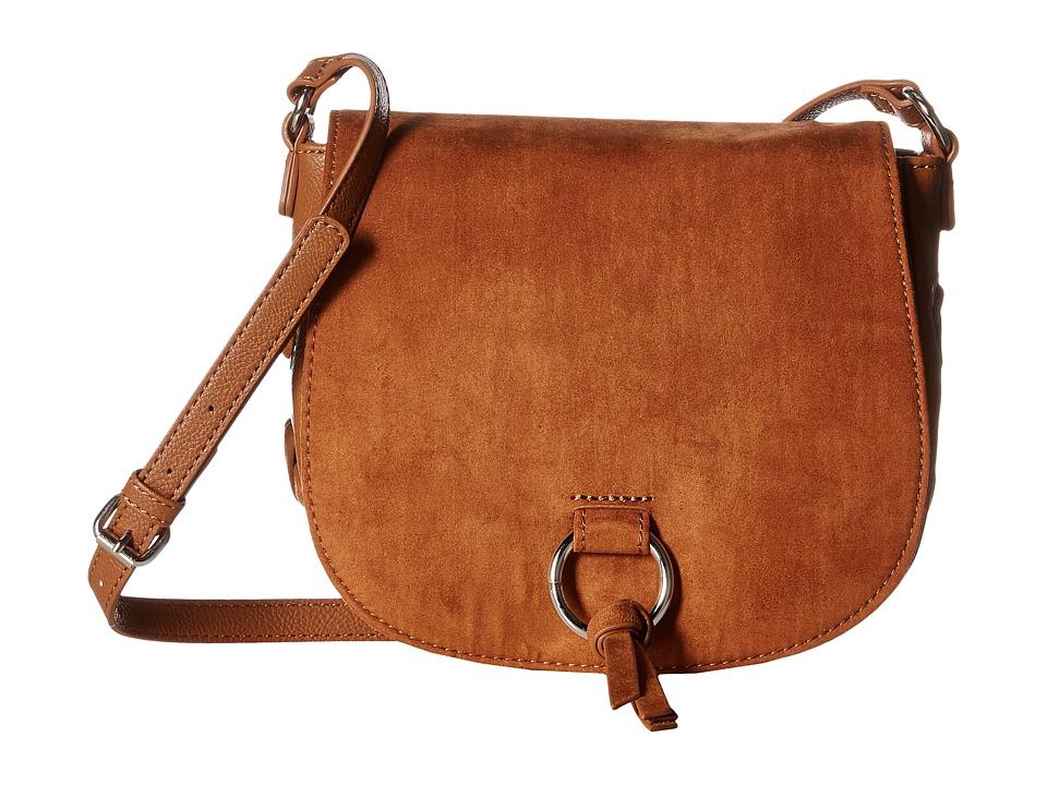 Nine West - Ring Decoder Crossbody (Tobacco) Handbags