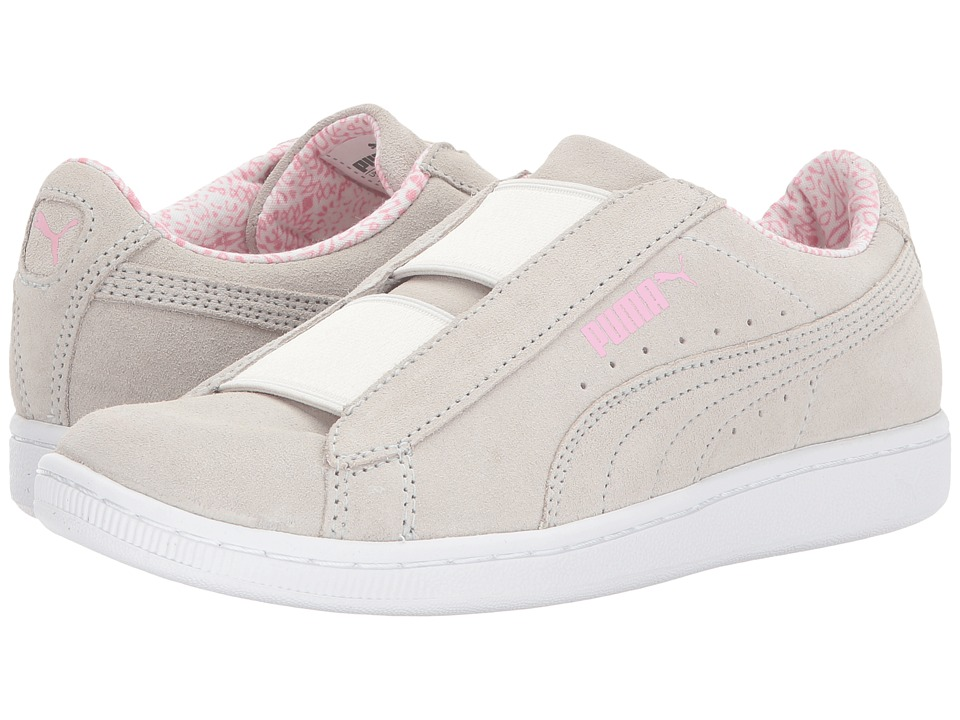 PUMA - Vikky Slip (Whisper White/Prism Pink) Women's Shoes