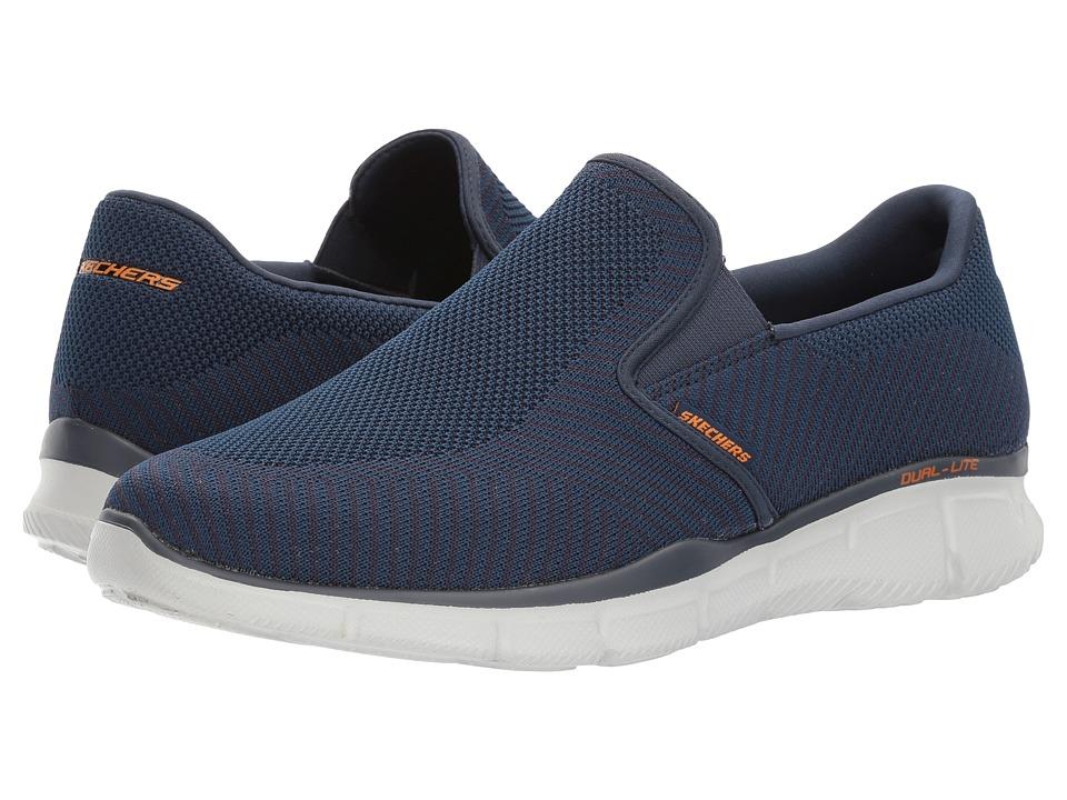 SKECHERS - Equalizer Okwara (Navy) Men's Shoes