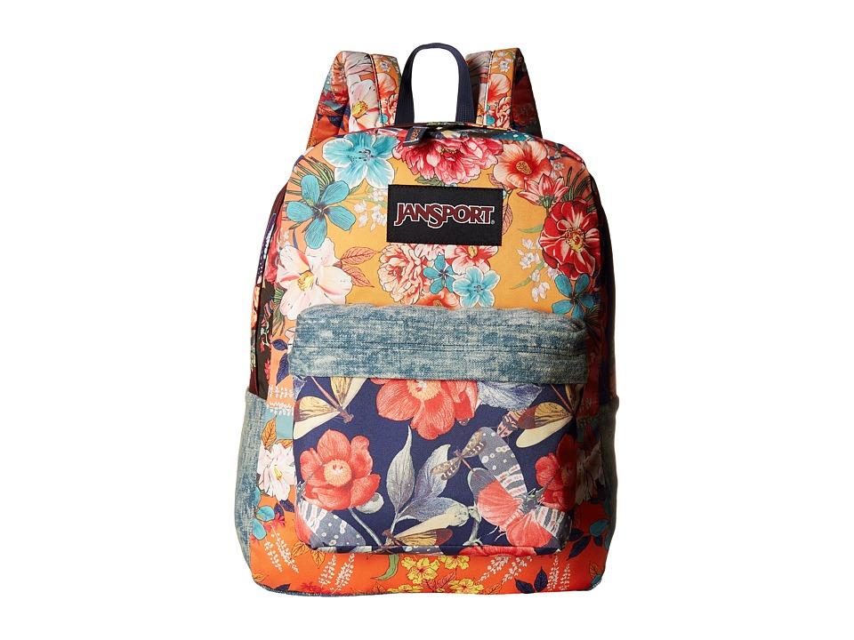 JanSport - Farm Superfx (Multi Patchwork) Bags