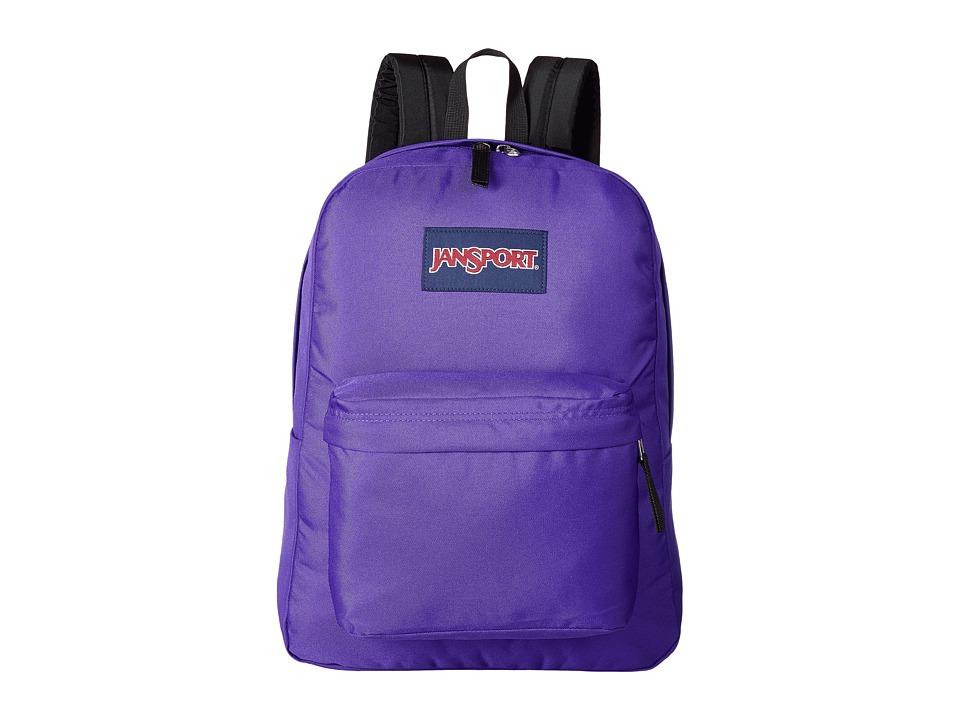 JanSport - Superbreak (Aqua Dash Scribbled Ink) Bags