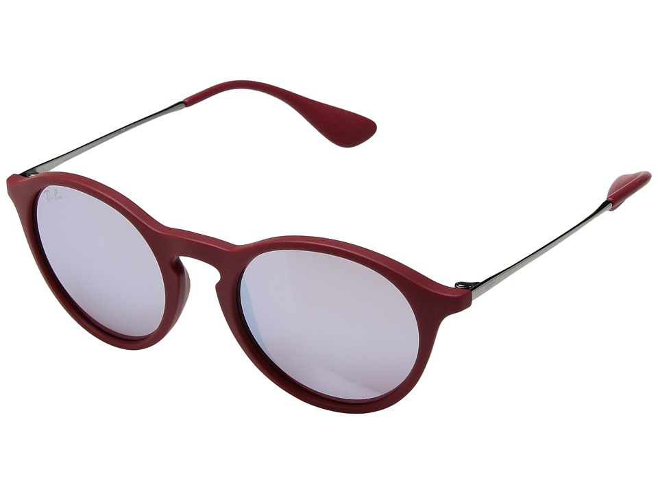 Ray-Ban - 0RB4243 49mm (Red) Fashion Sunglasses