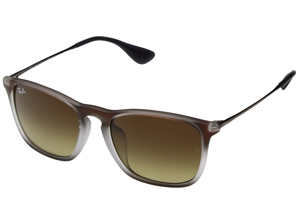 Ray-Ban - 0RB4187F 54mm (Taupe) Fashion Sunglasses