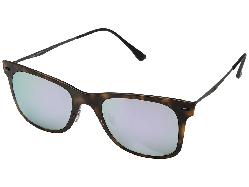 Ray-Ban - 0RB4210 50mm (Tortoise/Multi) Fashion Sunglasses