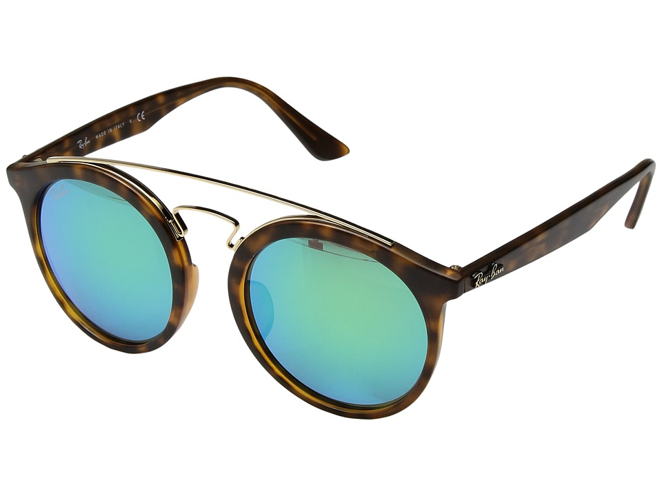 Ray-Ban - 0RB4256F 52mm (Tortoise) Fashion Sunglasses