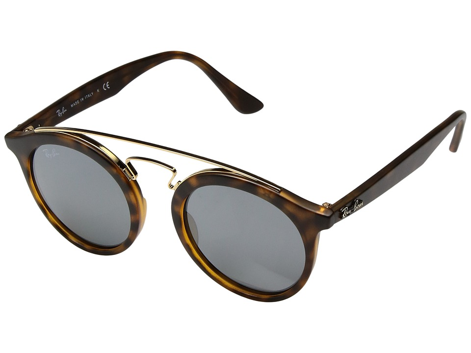 Ray-Ban - 0RB4256 46mm (Tortoise) Fashion Sunglasses