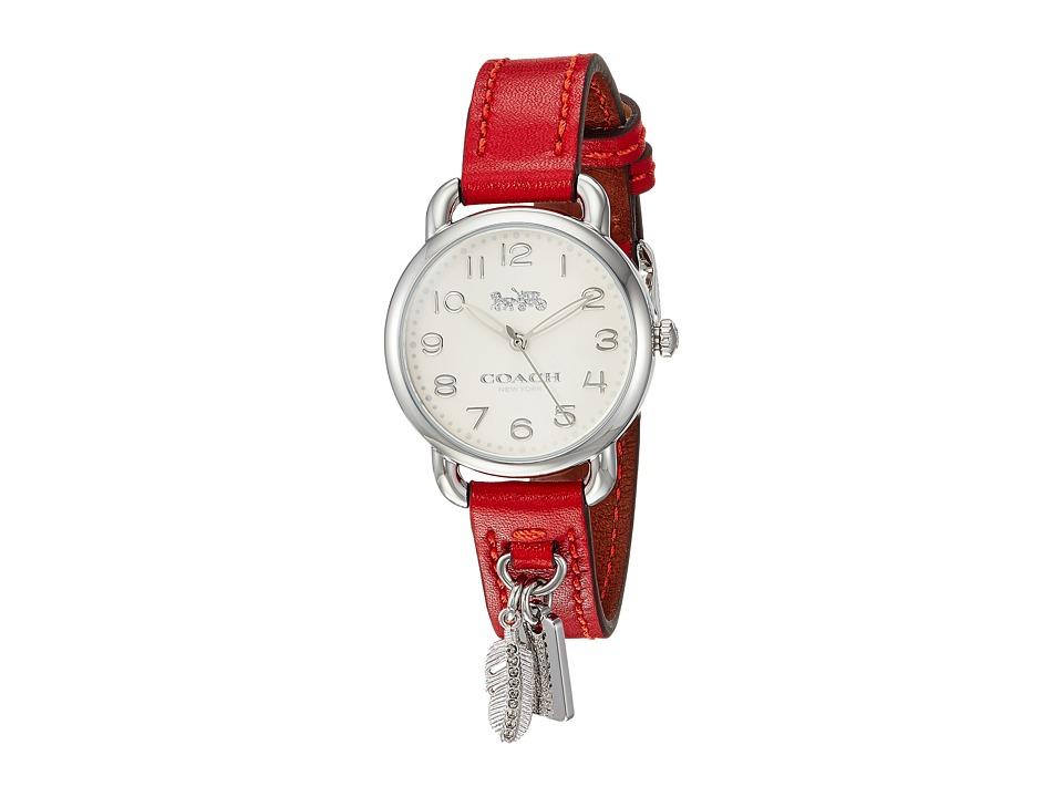 COACH - Delancey - 14502758 (Red) Watches