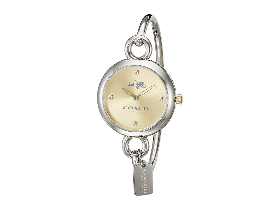 COACH - Hangtag Bangle (Gold/Steel) Watches