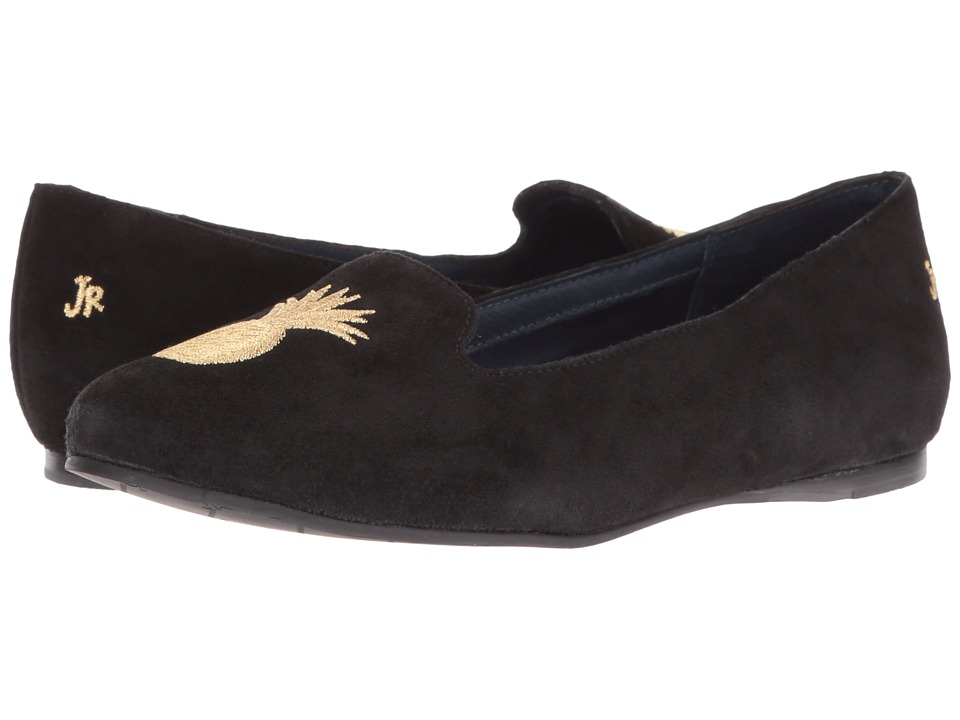 Jack Rogers - Anice Suede (Black) Women's Shoes