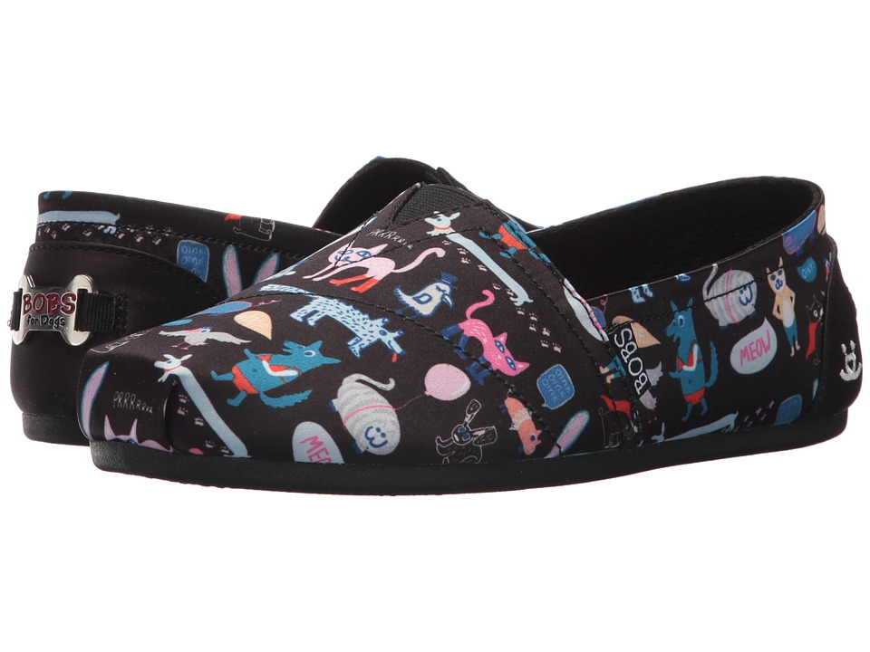 BOBS from SKECHERS Bobs Plush Quote Me (Black) Women