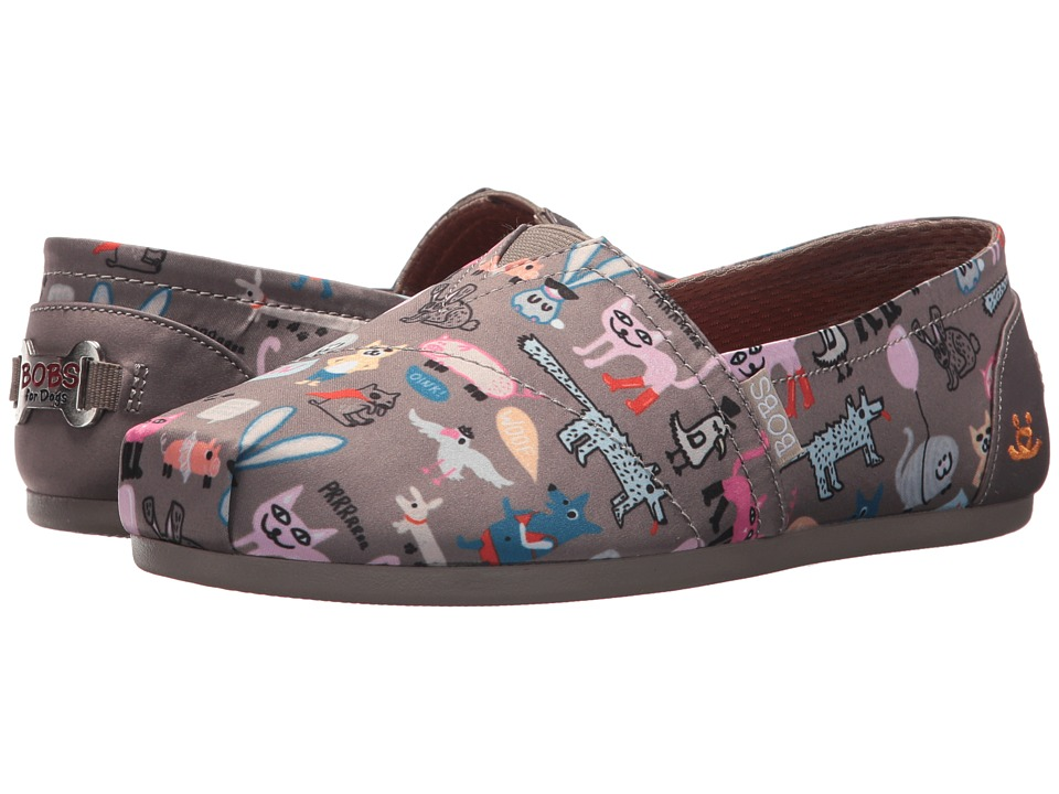 BOBS from SKECHERS Bobs Plush Quote Me (Taupe) Women