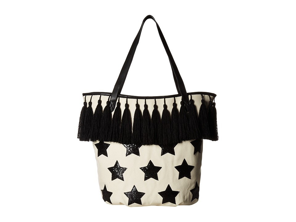 Circus by Sam Edelman - Marley Tassel Tote (Natural Black Star) Tote Handbags