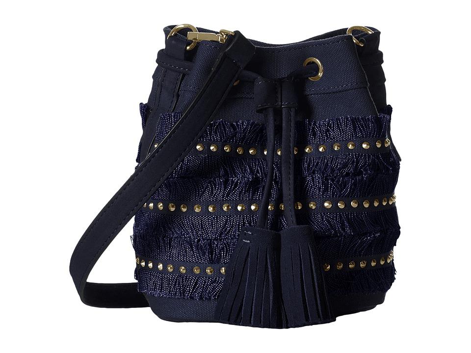 Steve Madden - Bbrooks Canvas Drawstring (Navy) Drawstring Handbags