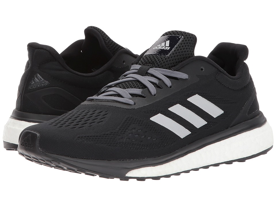 adidas - Response LT (Black/Silver Metallic/White) Women's Shoes