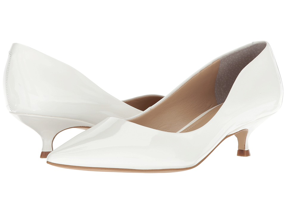Marc Fisher LTD Xanthe (White Patent) Women