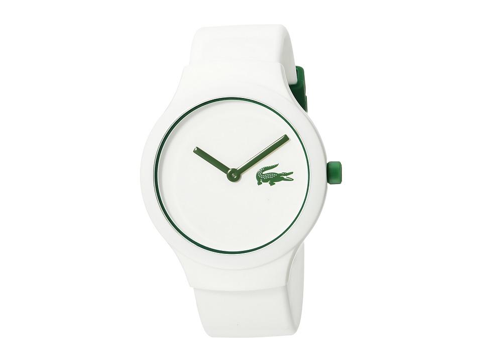 Lacoste - 2020103 - GOA (White/Green) Watches