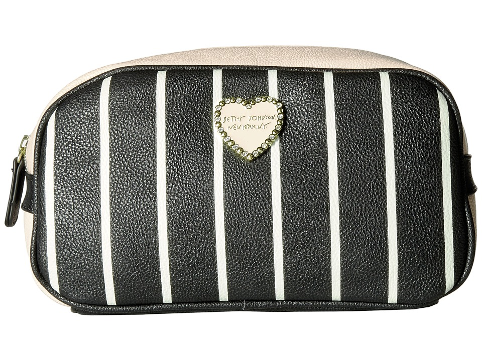 Betsey Johnson - Loaf Cosmetic (Stripe) Cosmetic Case