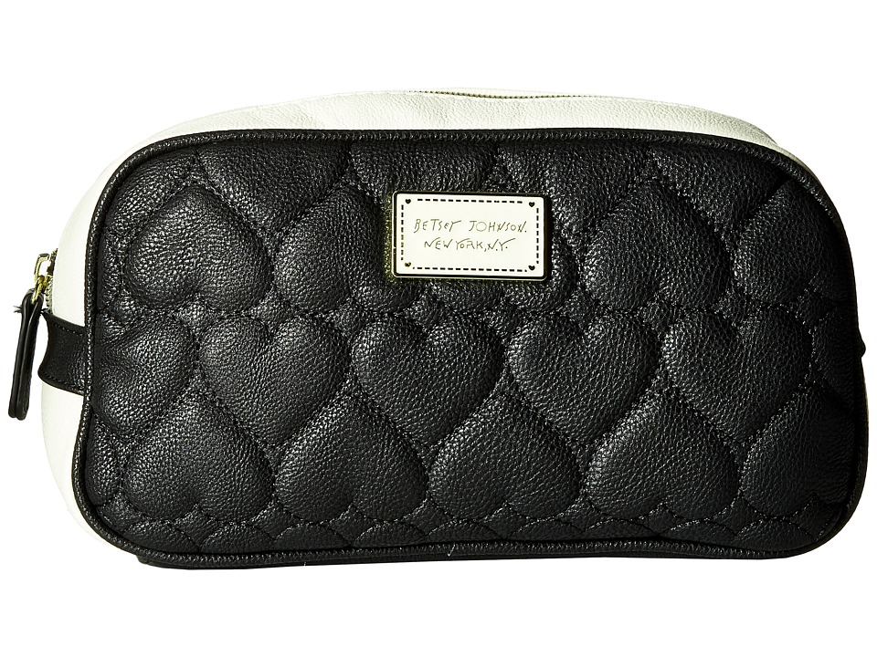 Betsey Johnson - Loaf Cosmetic (Black) Cosmetic Case