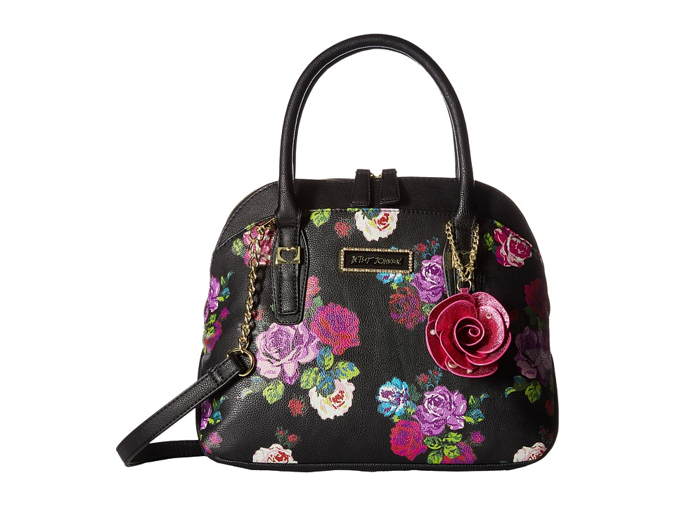 Betsey Johnson - Collar Dome (Floral) Handbags