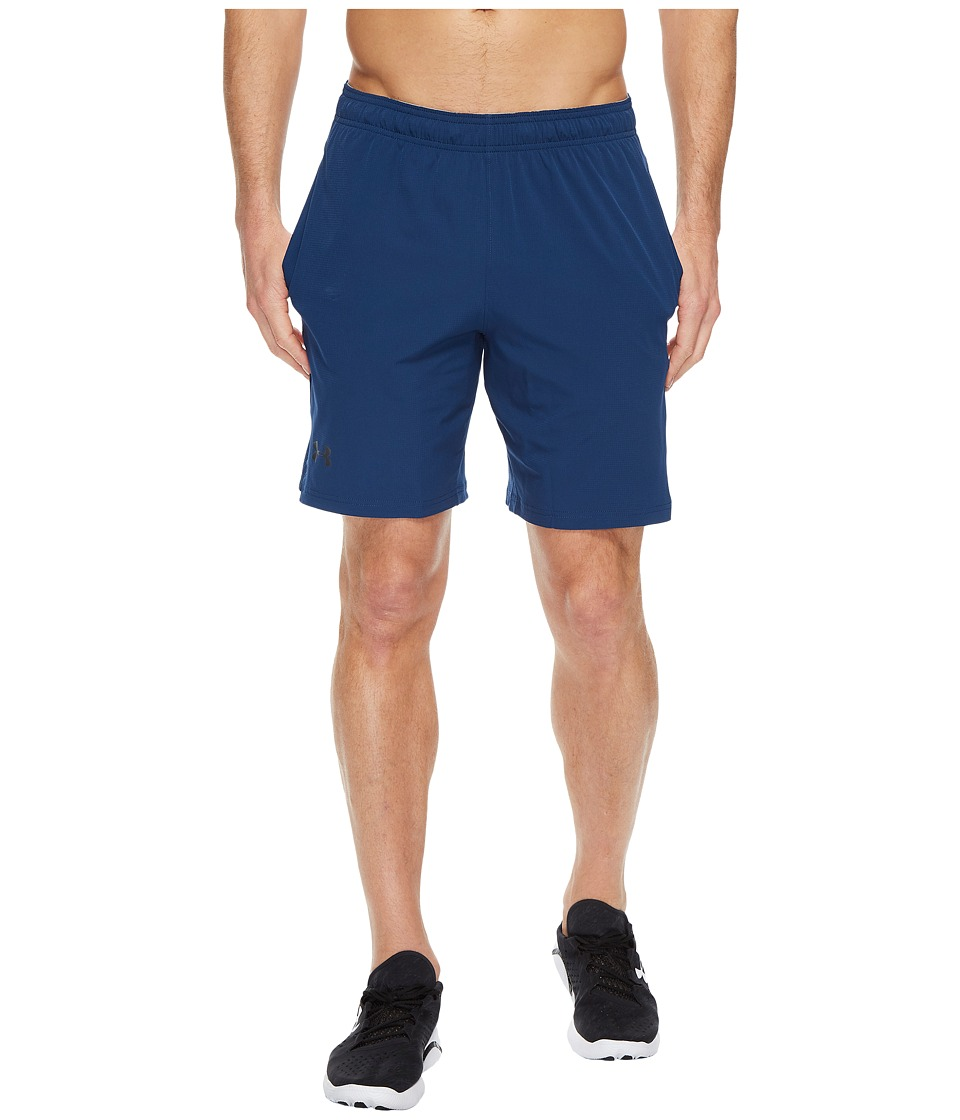 Under Armour - UA Cage Shorts (Navy) Men's Shorts