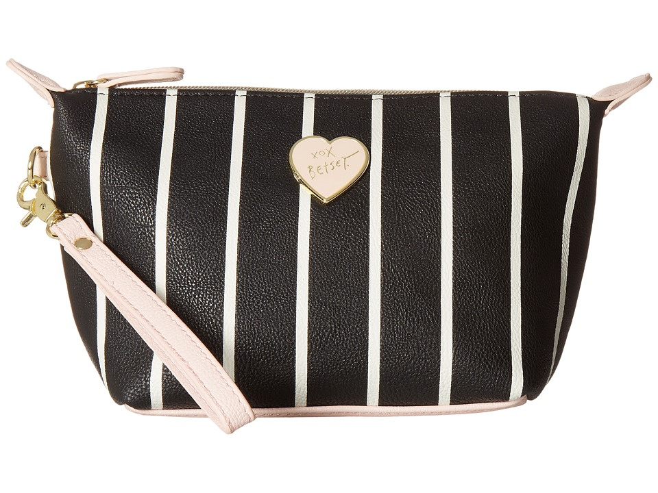 Betsey Johnson - Trapezoid Cosmetic (Stripe) Cosmetic Case