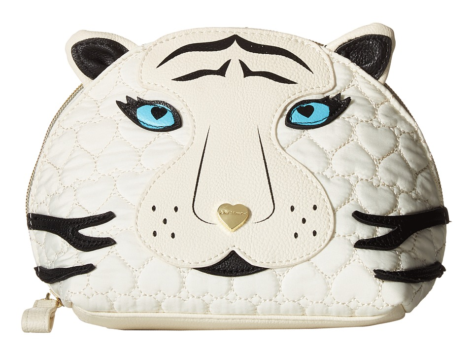 Betsey Johnson - Pinch Me Cosmetic (Cream) Cosmetic Case