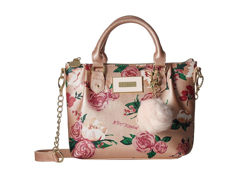 Betsey Johnson - Pinch Satchel Crossbody (Metallic) Cross Body Handbags