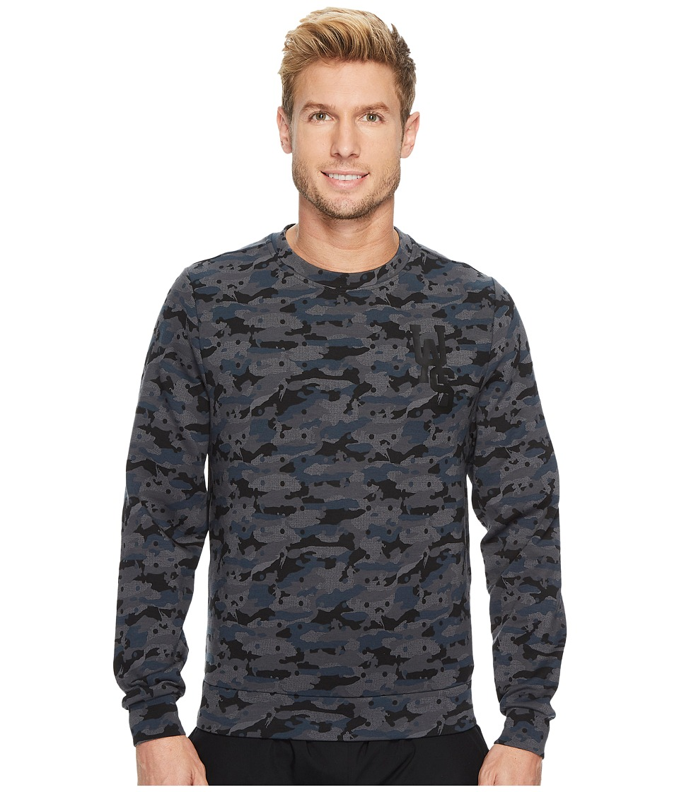 Under Armour - Tailgate Crew Graphic Sweatshirt (Navy) Men's Sweatshirt
