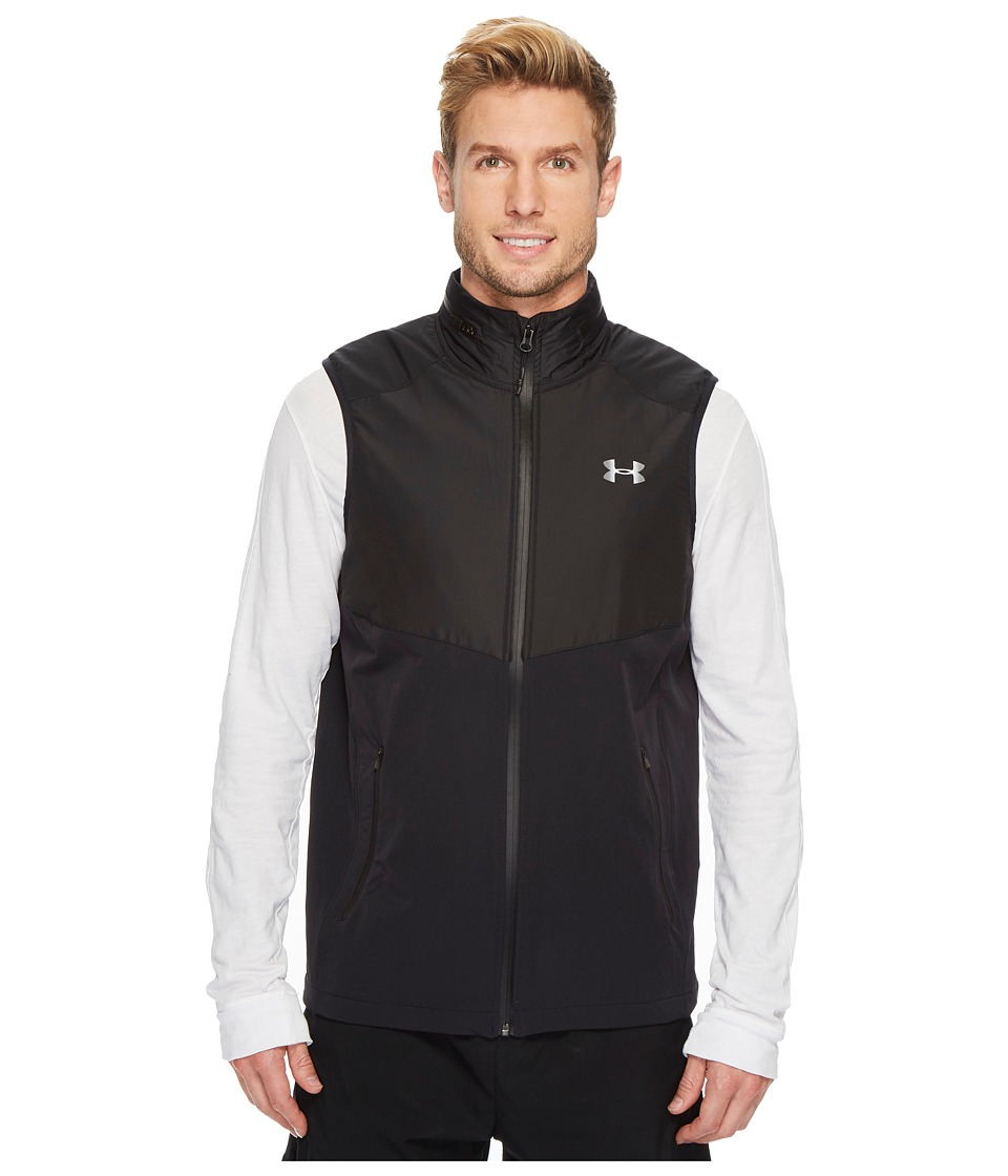 Under Armour - Storm Woven Insulated Vest (Black) Men's Vest