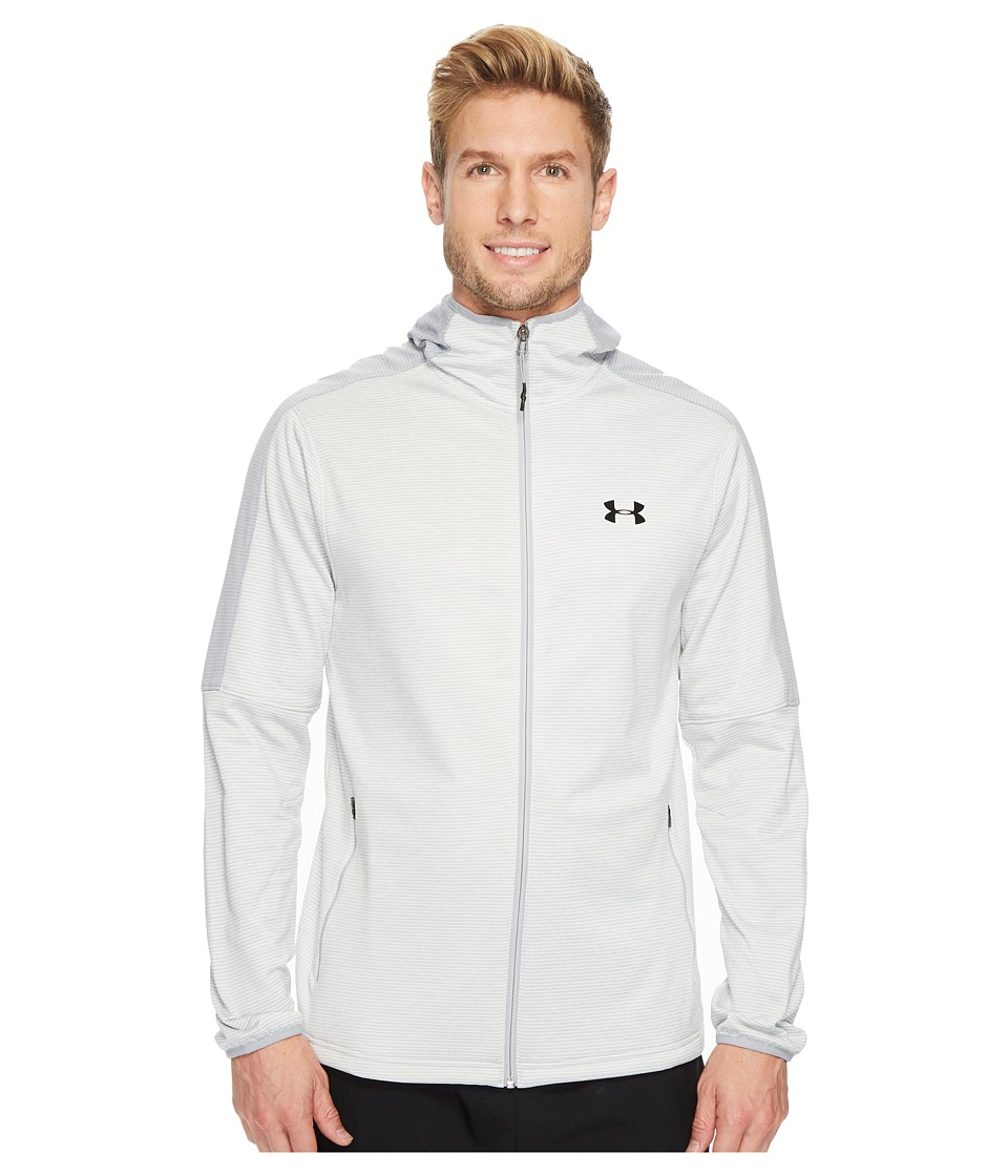 Under Armour - UA Scope Full Zip Hoodie (Grey) Men's Sweatshirt