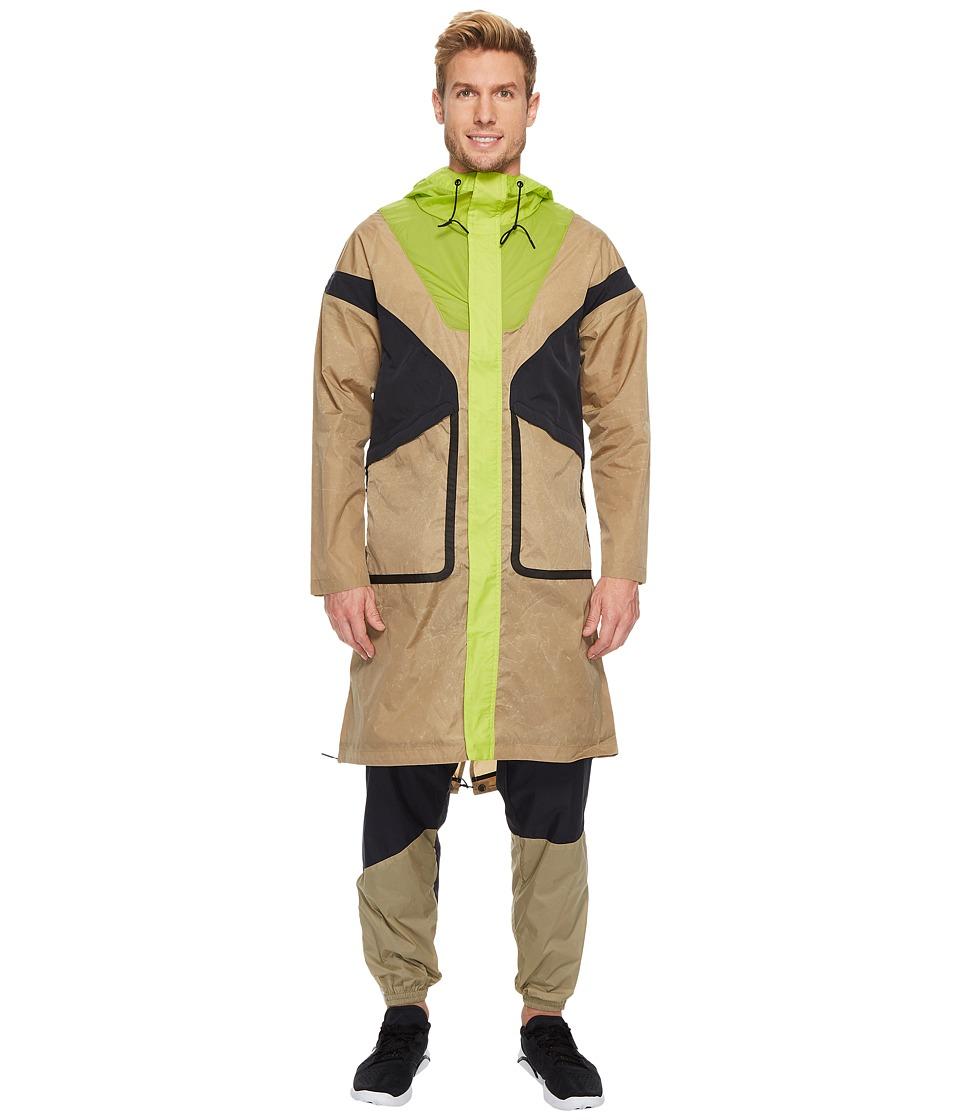Under Armour - Tent Cape (Brown) Men's Coat