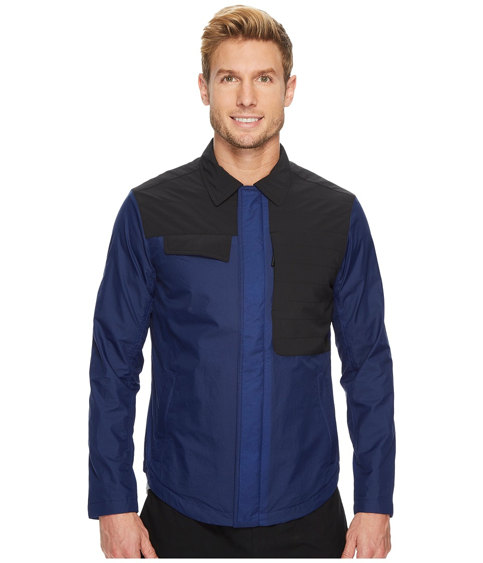 Under Armour - Shirt Jacket (Blue) Men's Coat