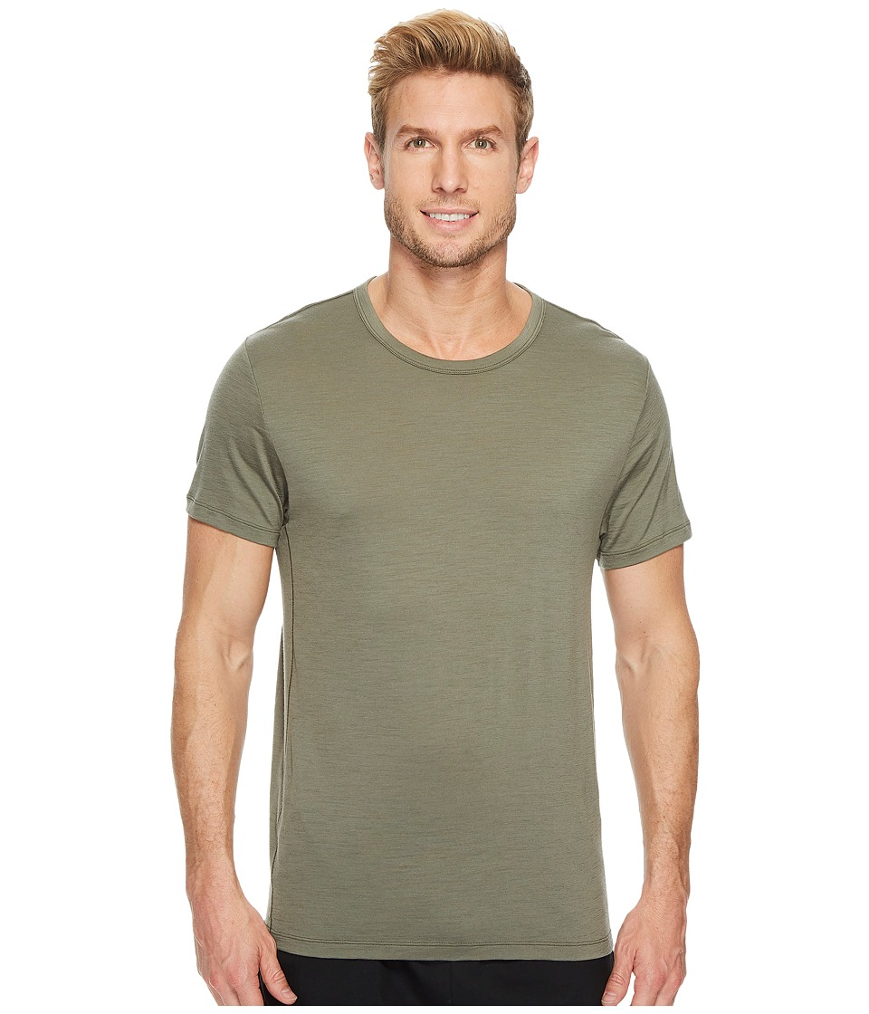 Under Armour - Prime Short Sleeve Crew (Green) Men's Clothing
