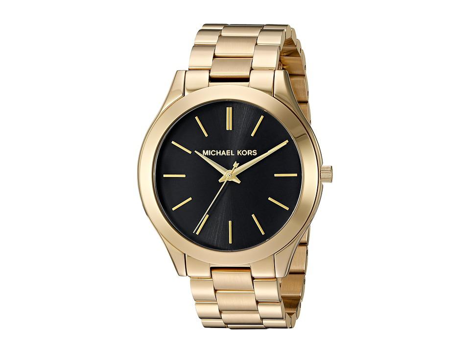 Michael Kors - MK3478 (Black/Gold) Watches