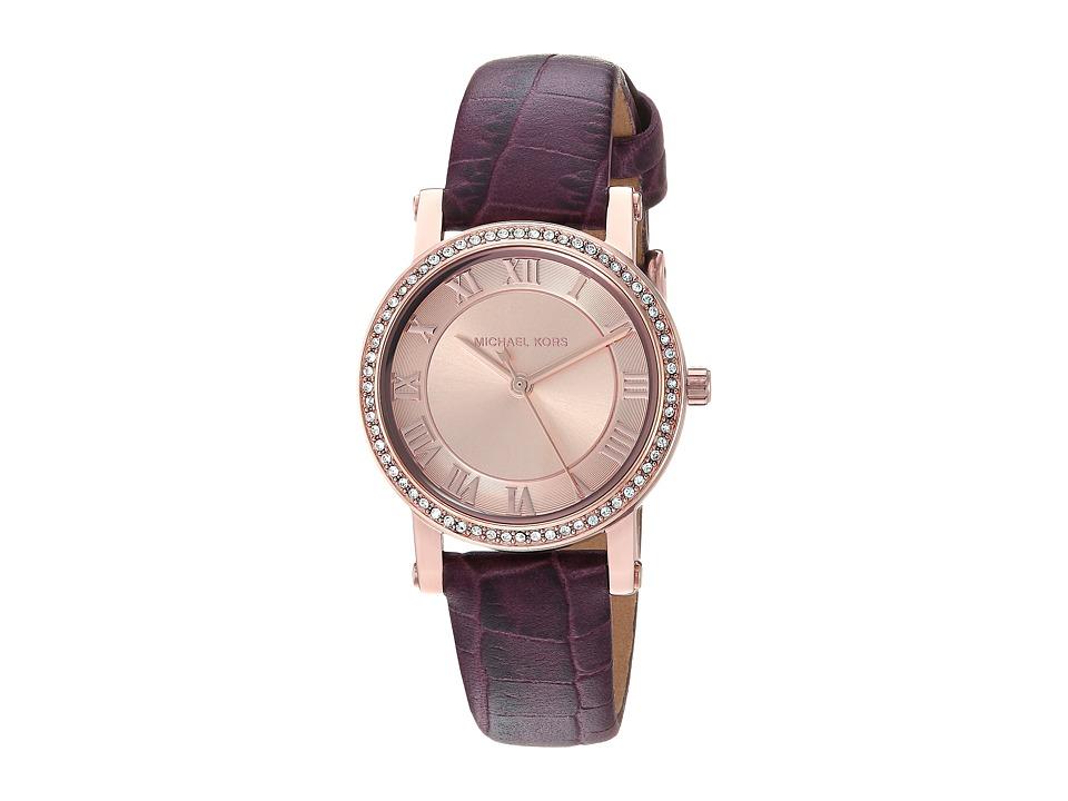 Michael Kors - MK2608 (Rose Gold/Burgundy) Watches