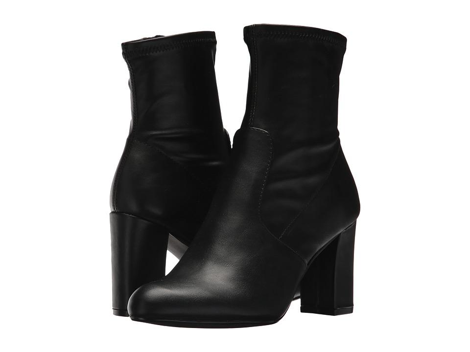 Steve Madden Emina-S Black Pull-on Boots