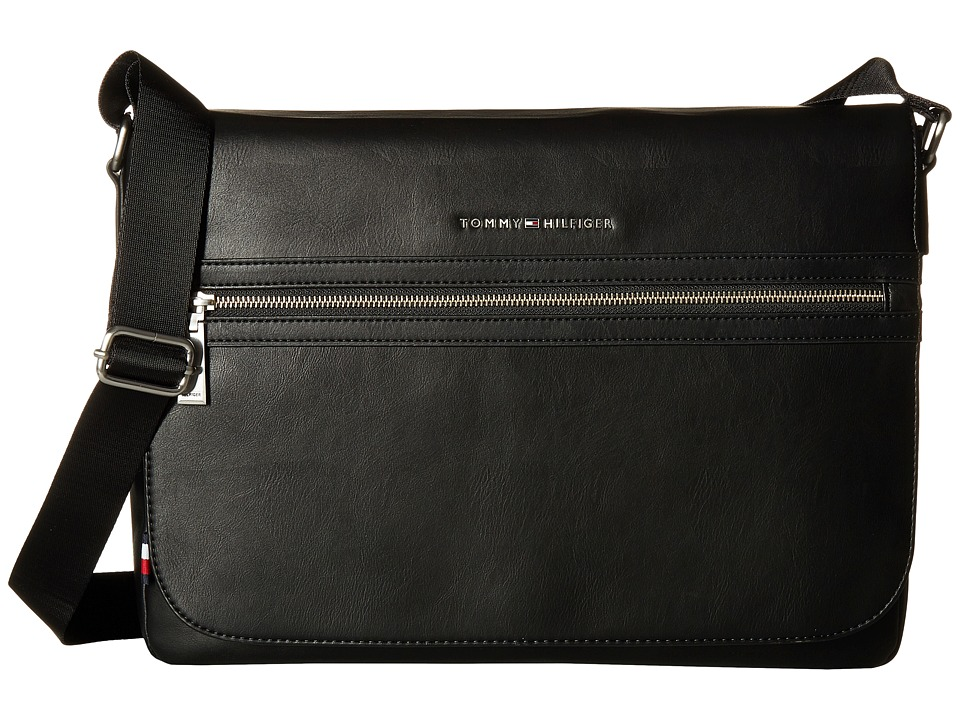 Tommy Hilfiger - TH City Messenger (Black) Messenger Bags