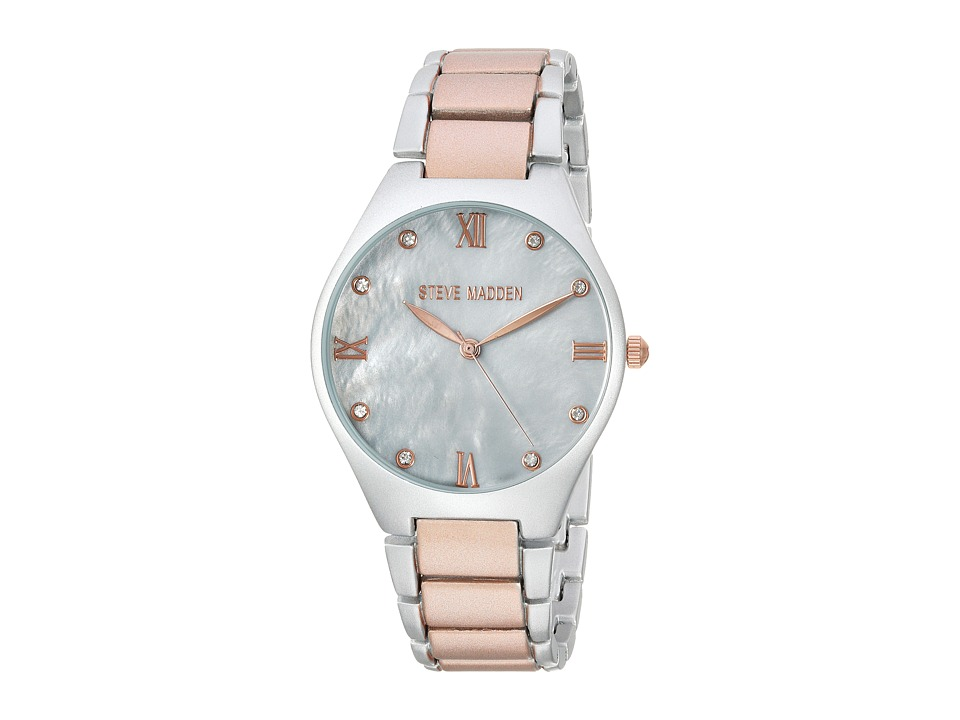 Steve Madden - SMW070Q-M1 (Grey/Rose Gold) Watches