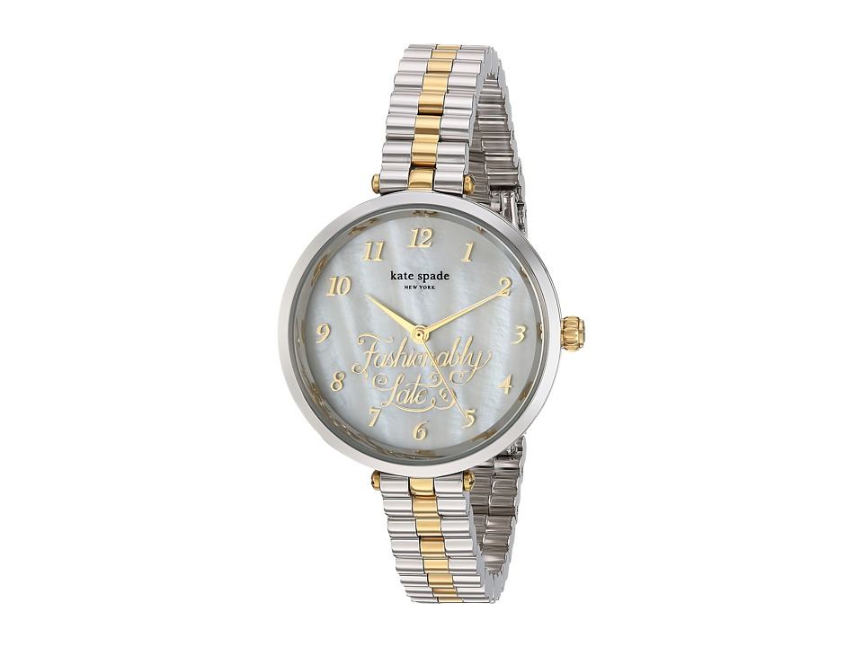 Kate Spade New York - Holland Mother-of-Pearl - KSW1217 (Silver) Watches