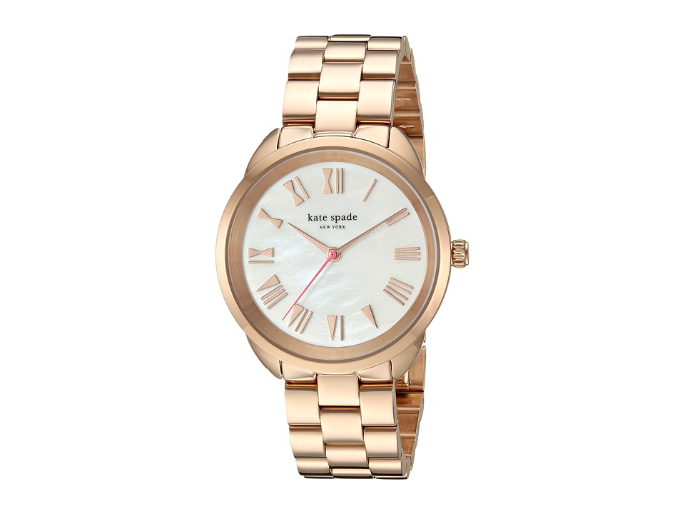 Kate Spade New York - Crosstown Mother-of-Pearl - KSW1091 (Rose Gold) Watches